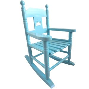 Blue Childs Rocking Chair