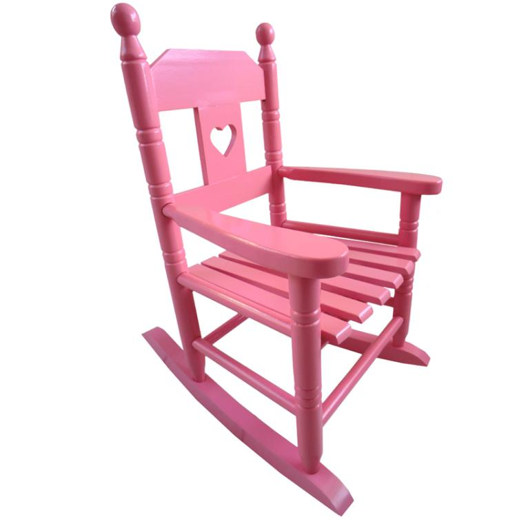 Pink Childs Rocking Chair