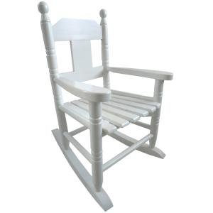 White Childs Rocking Chair