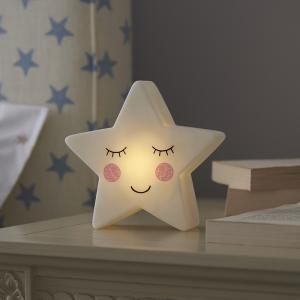 Smiling Star Night Light