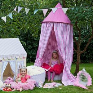 Candy Pink Hanging Tent