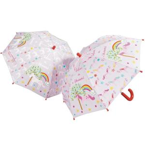 Unicorn Colour Changing Umbrella