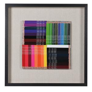 Colouring Pencils in Black Frame