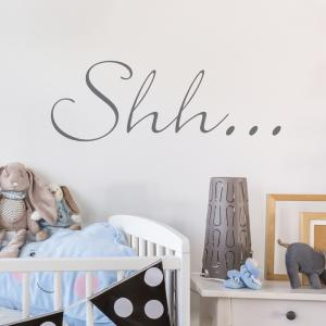 'Shh...' Wall Sticker