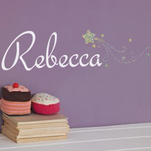 Star Sparkle Personalised Name Wall Sticker