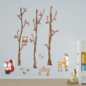 Forest Friends Wall Sticker