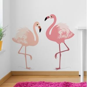 Flamingoes Wall Sticker