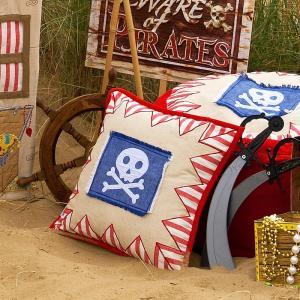 Pirate Shack Cushion Cover