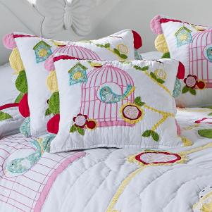 Birdcage Cushion Cover - FLASH SALE - Sold!!!