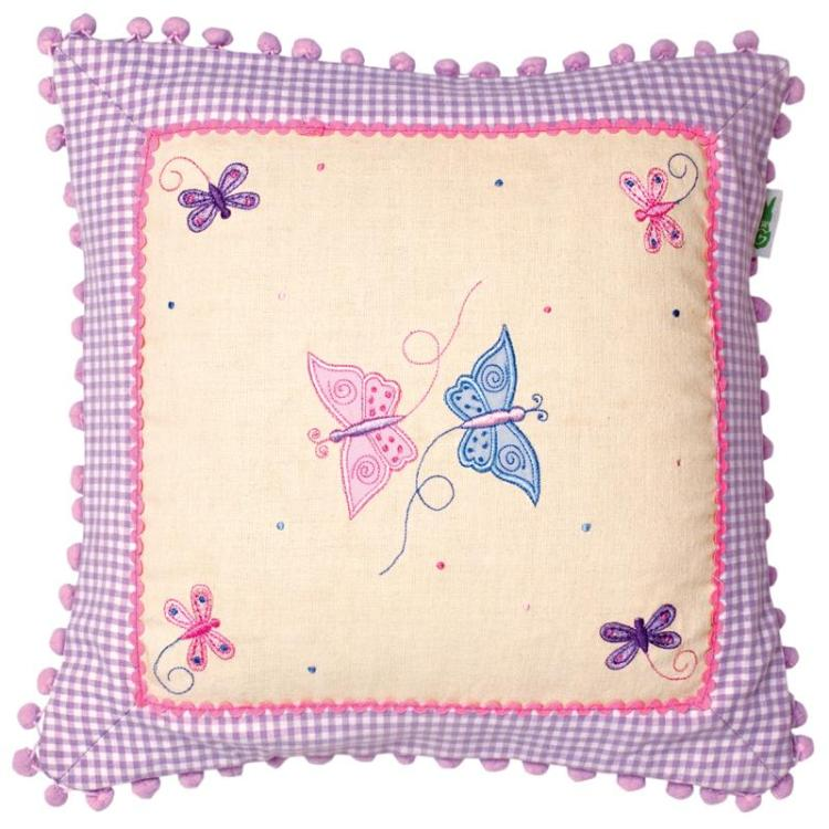 Butterfly Cottage Cushion Cover