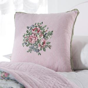 Pale Pink Flower Cushion