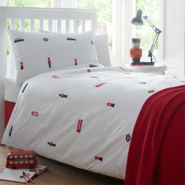 Organic London Duvet Set