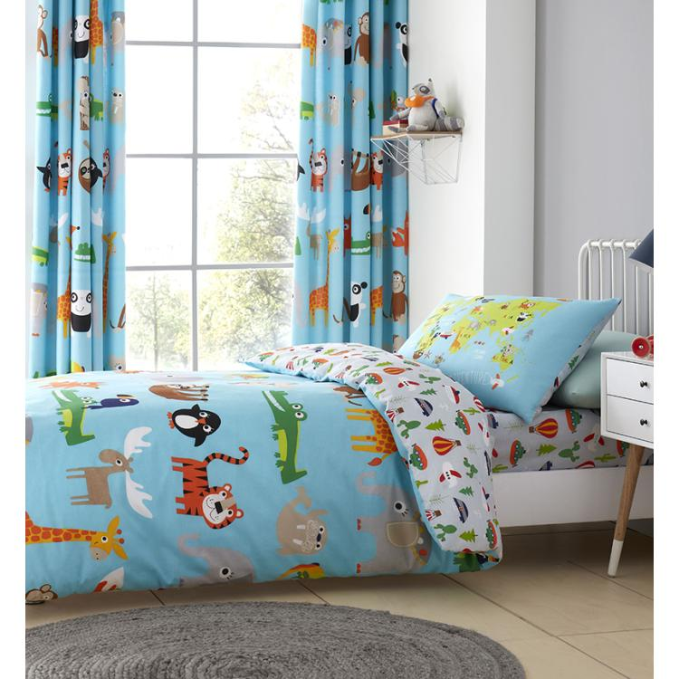 Animal Friends Duvet Set