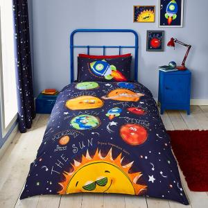Fun Space Duvet Set