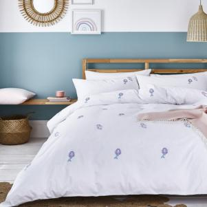 Organic Mermaids Cotton Duvet Set