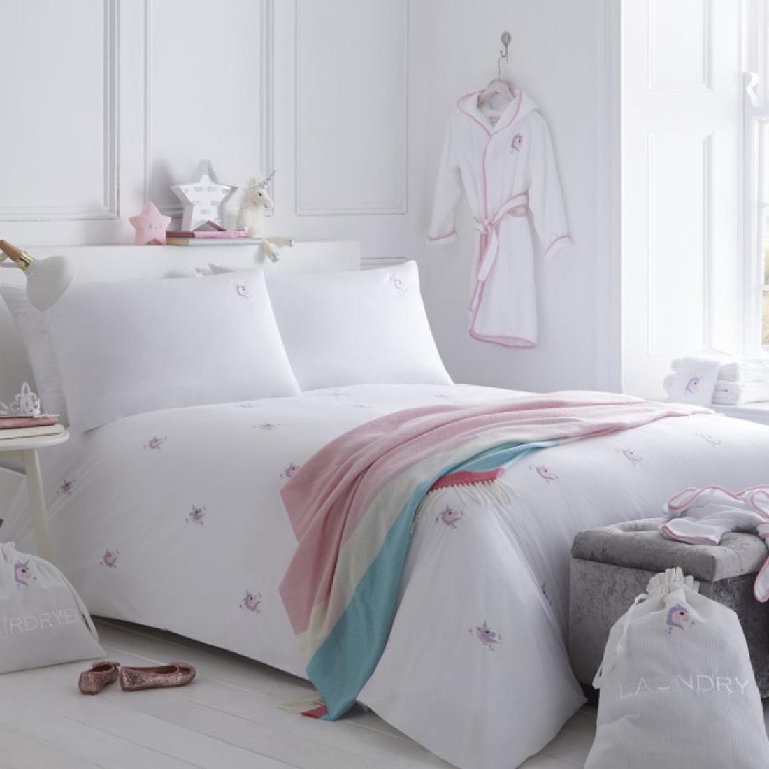 Standard King Size Duvet Organic Unicorn Duvet Set Bed