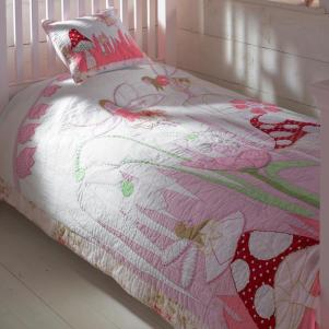 Fairy in the Garden Bedspread