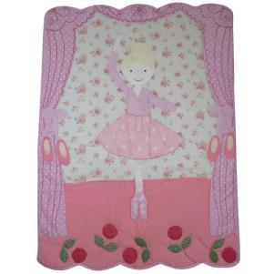 Ballerina Quilted Bedspread