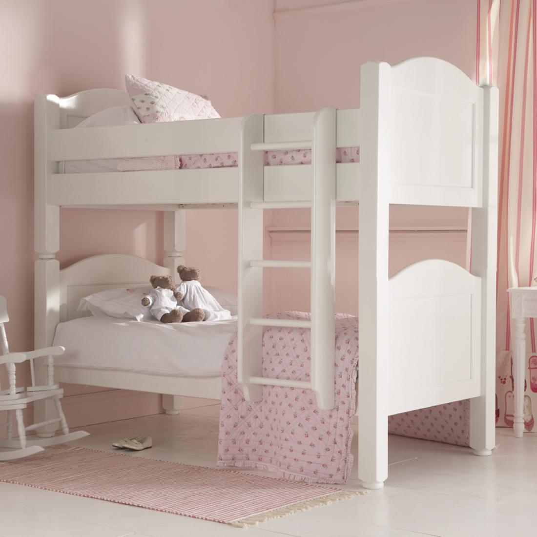 White bunk bed for 5 yr old beds