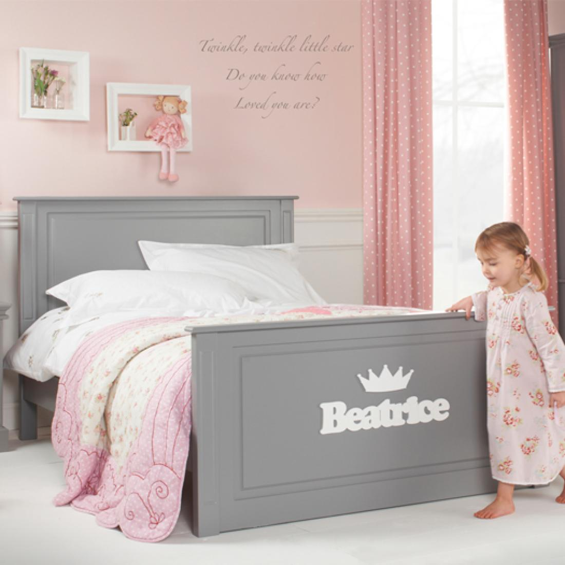 Girls Archie High Foot End Bed