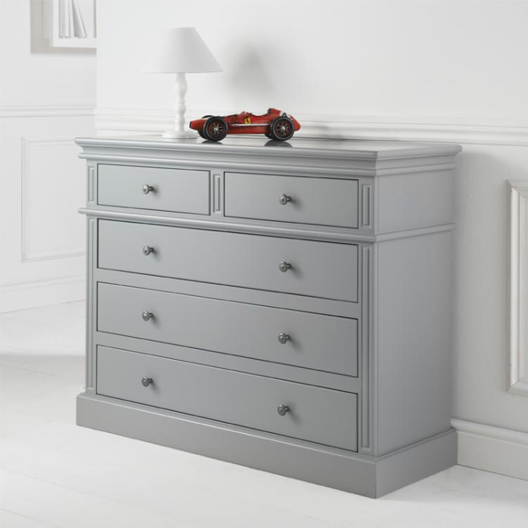 Archie 2 Over 3 Chest of Drawers in Cool Grey - FLASH SALE- Sorry now sold!!!