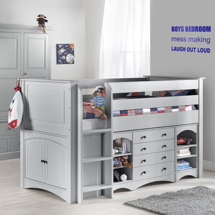 Archie Luxury Cabin Bed - Cabin Bed Cabin Beds High Quality - Little Lucy Willow UK