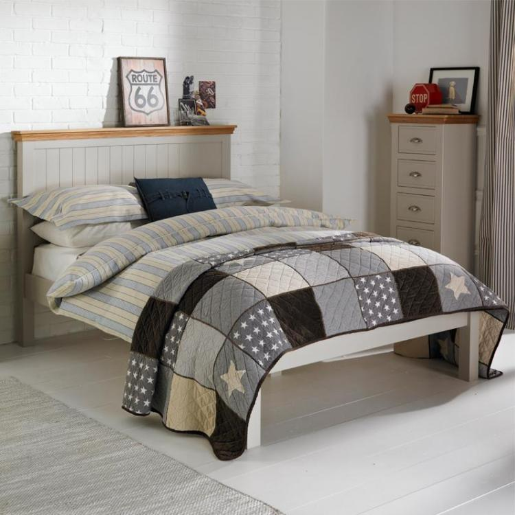 Charlie Oakley 4ft 6 Double Low Foot End Bed - FLASH SALE - SORRY NOW SOLD!!!