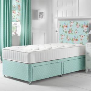 English Rose Seafoam Divan Bed