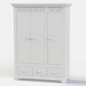 Florence Flutterby 3 Door Wardrobe - FLASH SALE - Sorry now sold!