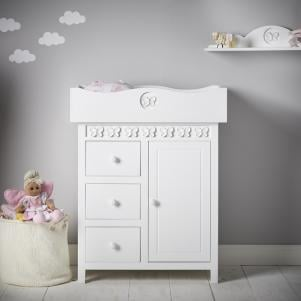 Florence Flutterby Chest and Changing Unit