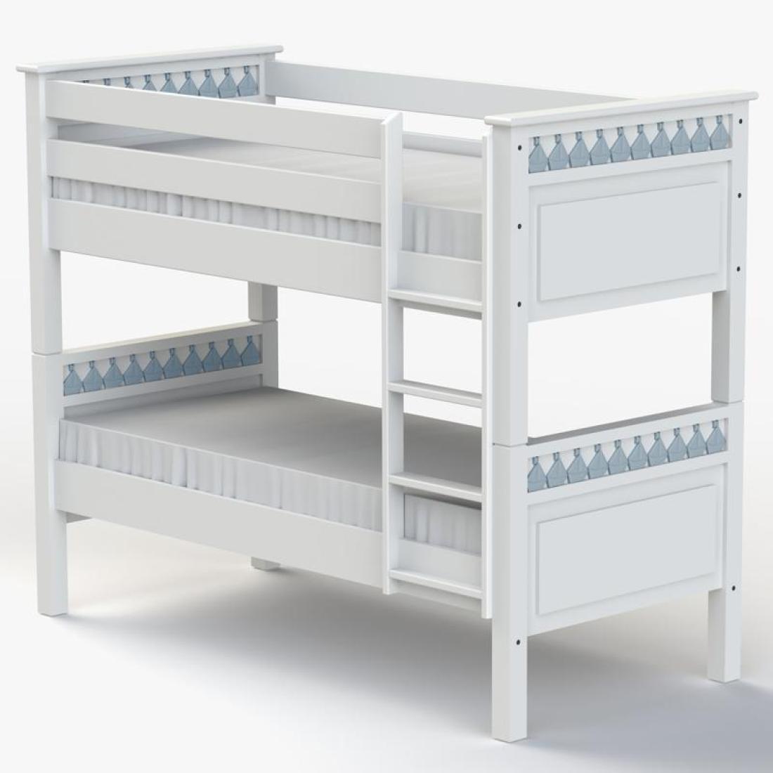 Little Buoy Blue Bunk Bed Boys Bunk Bed Kids Bunk Beds