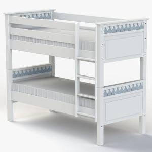Little Buoy Blue Bunk Bed