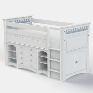 Little Buoy Blue Cabin Bed