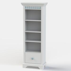 Little Buoy Blue Tall Bookcase