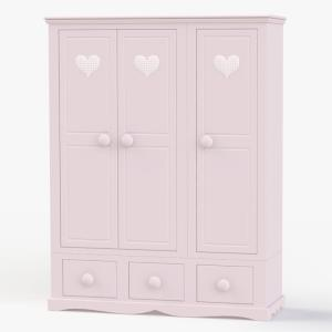 Looby Lou 3 Door Wardrobe