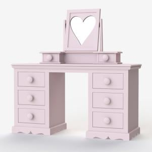 Looby Lou Large Dressing Table and Mirror