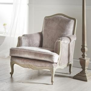 Luxury Velvet Armchair