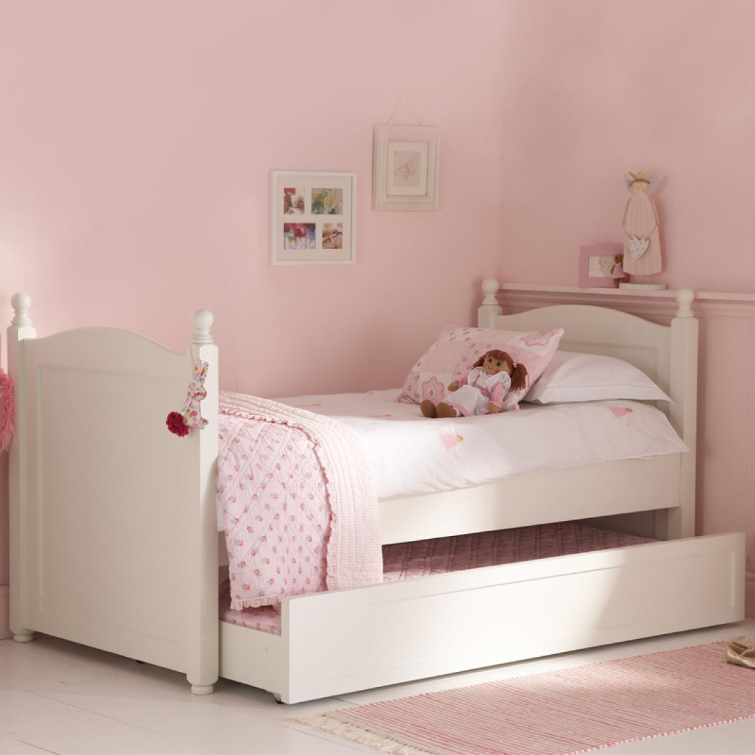 white truckle bed | childrens bedroom furniture uk