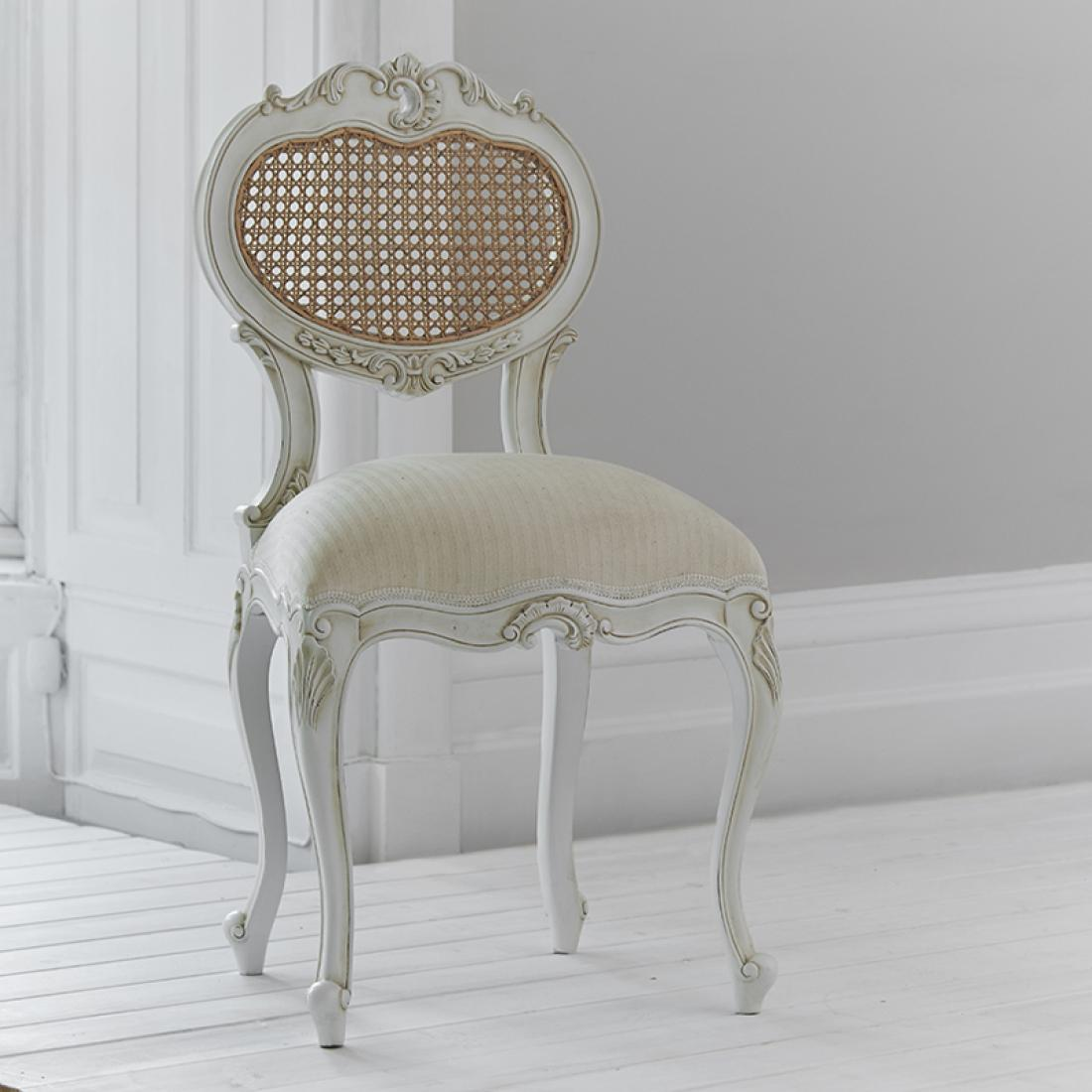Tilly Rattan Dressing Table Chair