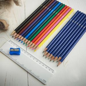 Personalised Name Pack of 20 HB Pencils & Colouring Pencils
