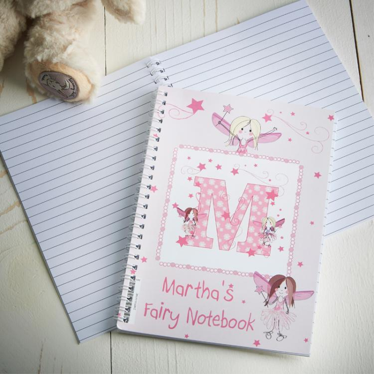 Fairy Letter A5 Notebook