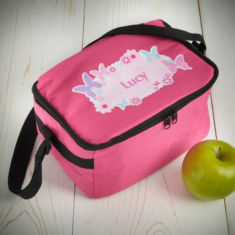 Butterfly Personalised Lunch Bag
