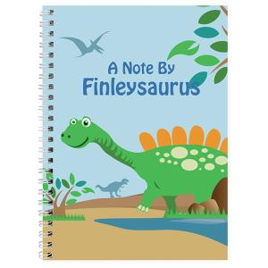 Dinosaur Personalised A5 Notebook