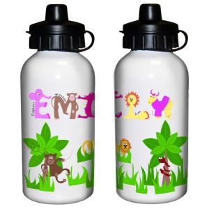 Animal Name Girls Drinks Bottle