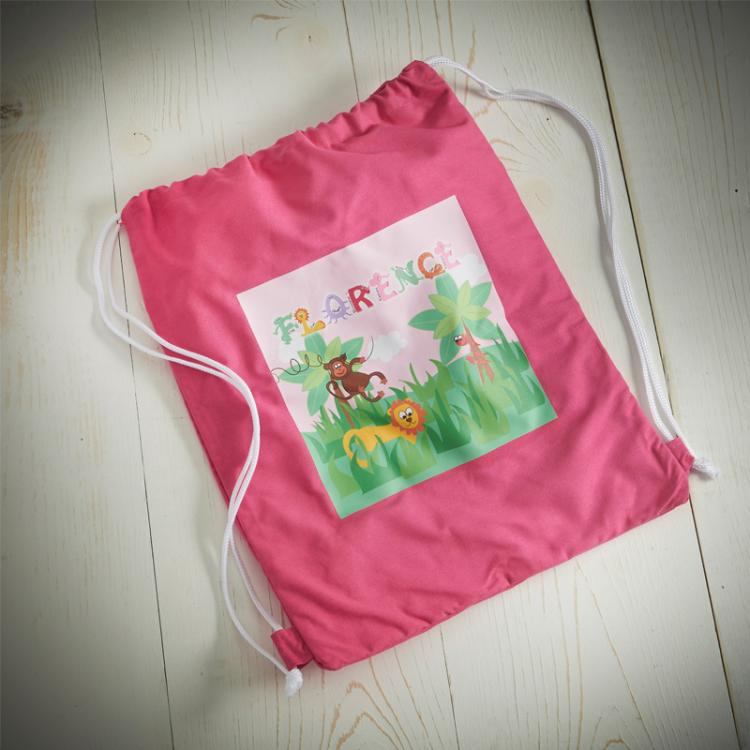 Animal Name Girls Swim Bag