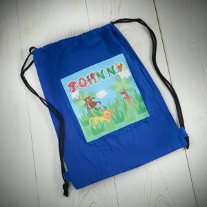 Animal Name Boys Swim Bag
