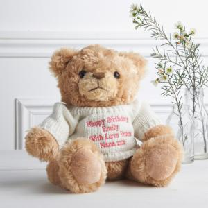 Teddy Pink Message Bear