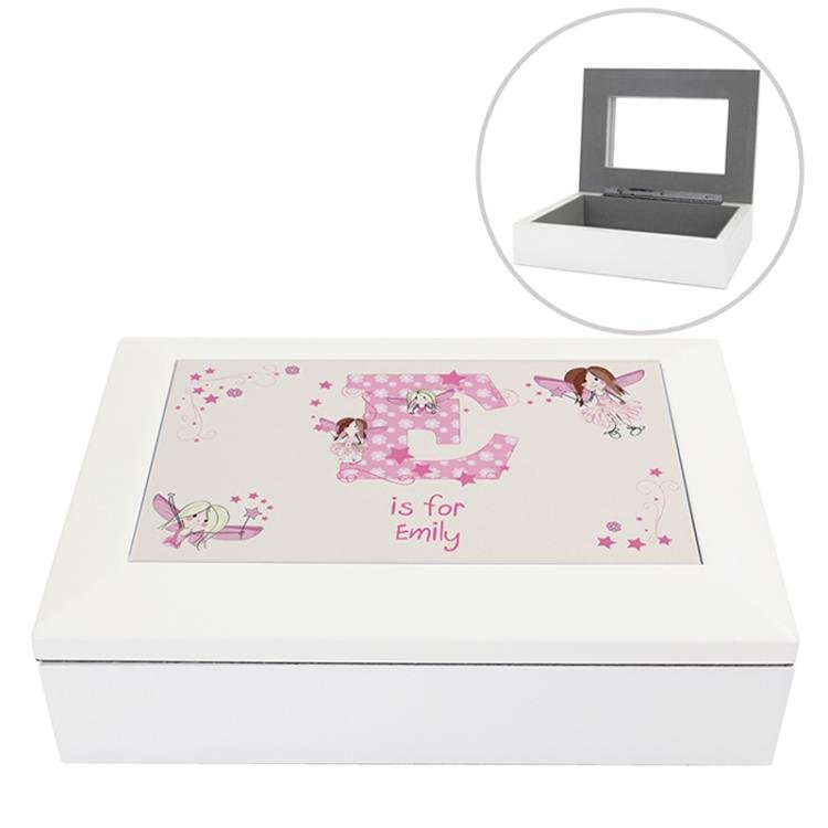 Fairy Letter Jewellery Box