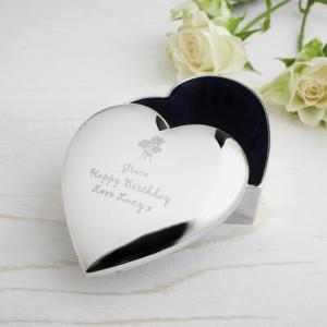 Flowers Heart Trinket