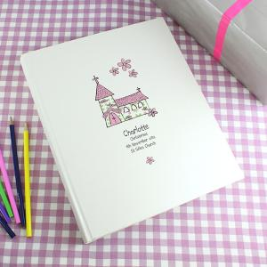 Pink Church Personalised Photo Album
